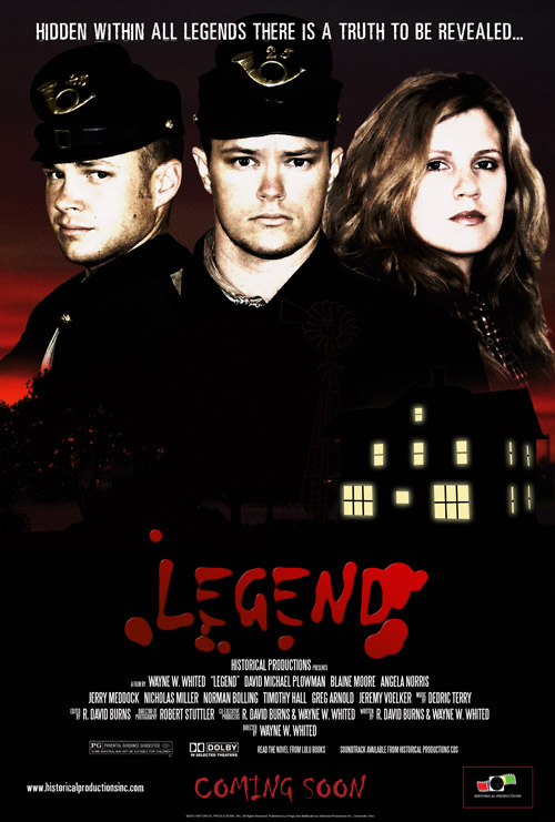 LEGEND One-Sheet Advanced Movie Poster